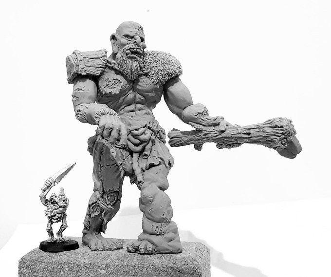Bert front and compared to a GW plaguebearer (there for size comparaision only,)