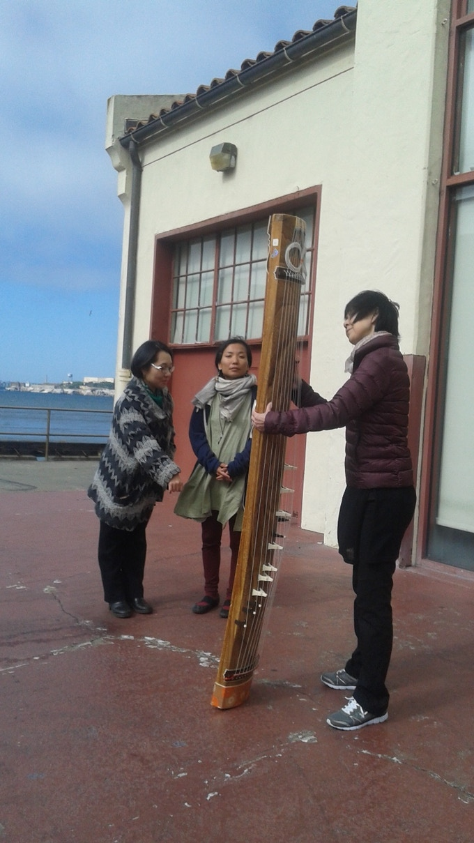 The koto sings beautifully with the winds!