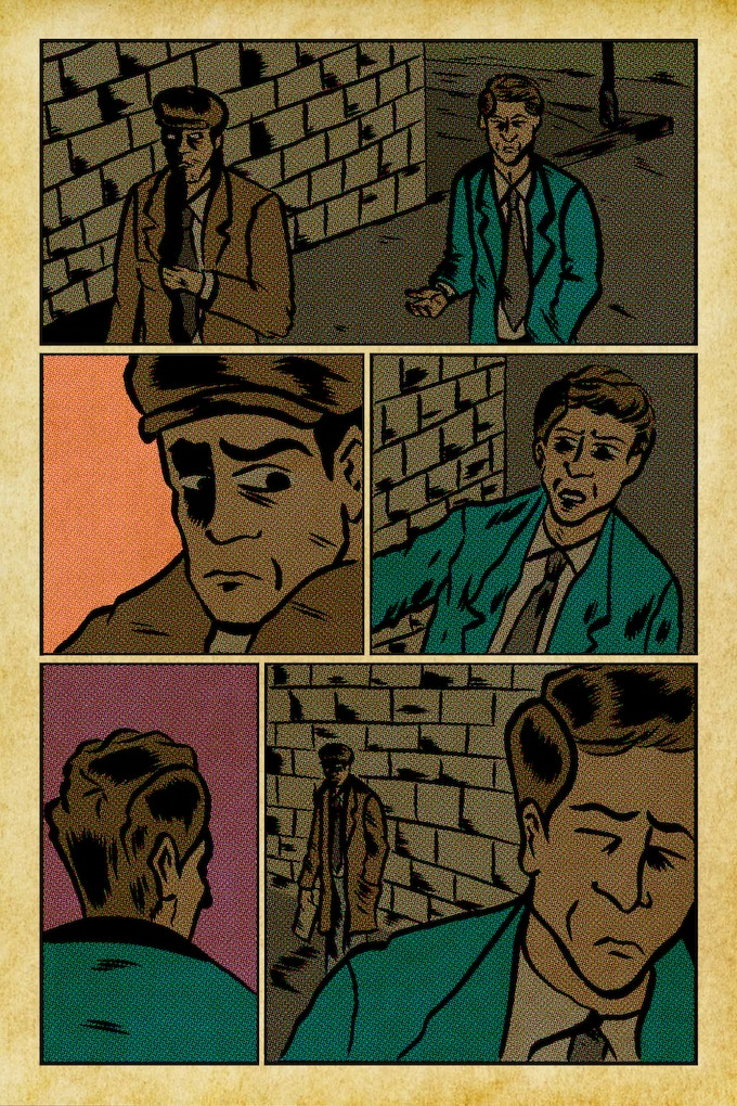 Unlettered pages from The Fragment! The Cambridge File