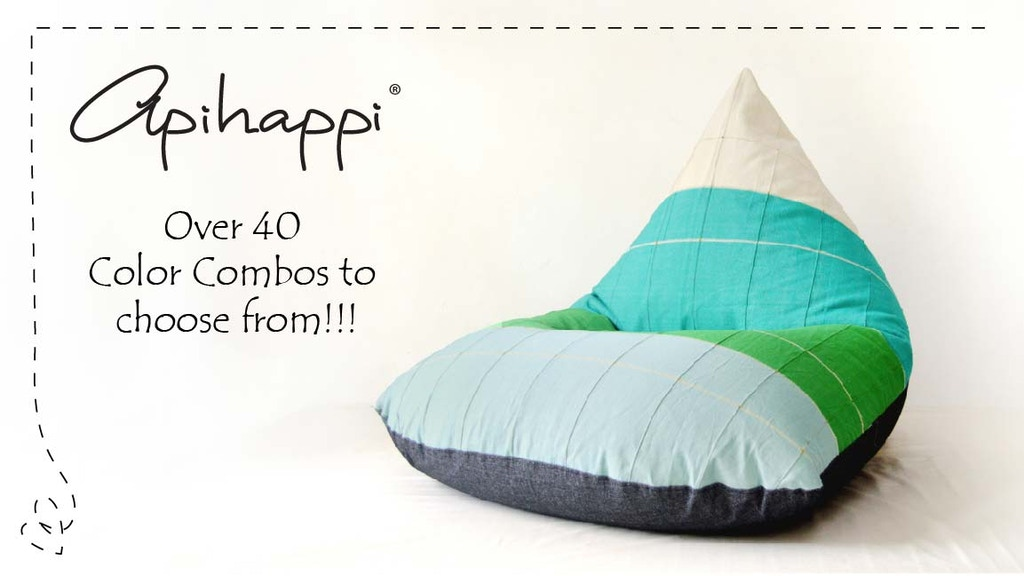 ApiHappi Beanbags - enjoy the comfort of sustainable design! project video thumbnail