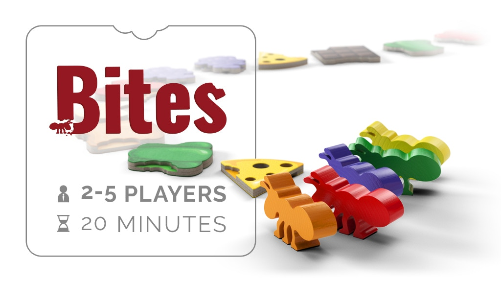 Bites - A 20 min, interactive, board game. project video thumbnail