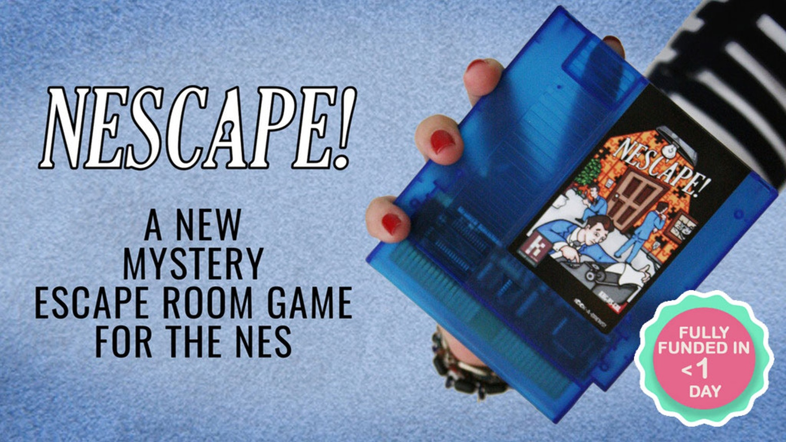 NEScape! is a mystery escape room game for the original NES. Playable on a real NES, as well as Mac, PC, and Linux!