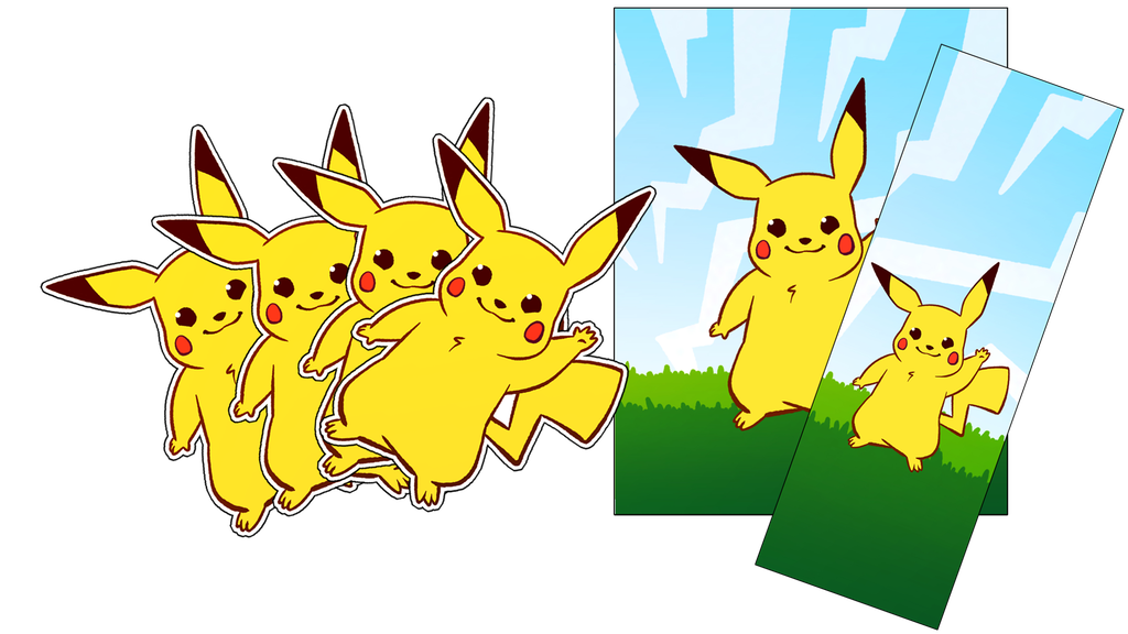 Project image for Pikachu Vinyl Decals and other fun stuff (Canceled)