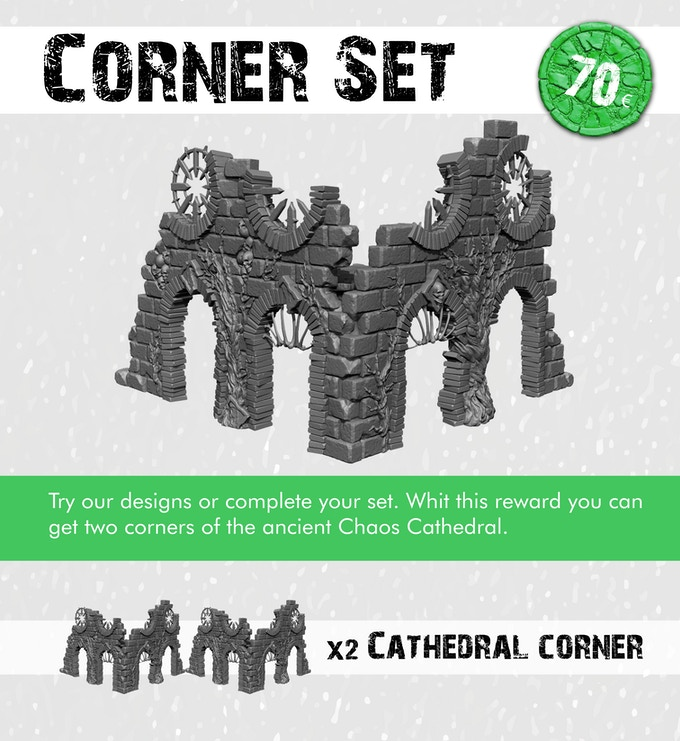 The Chaos Cathedral Corner Set