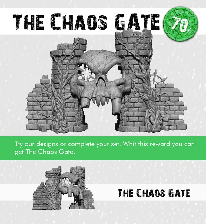 The Chaos Cathedral Gate