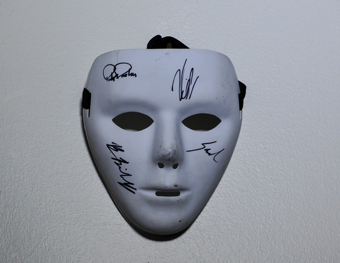 "Digital Raffle For Signed Mask From ""Blue Star"" Music Video"