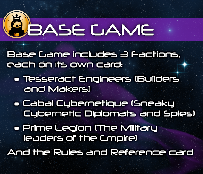 Base Game Includes