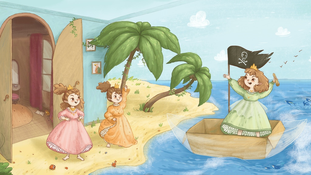 Princess Pirates, an empowering book for children