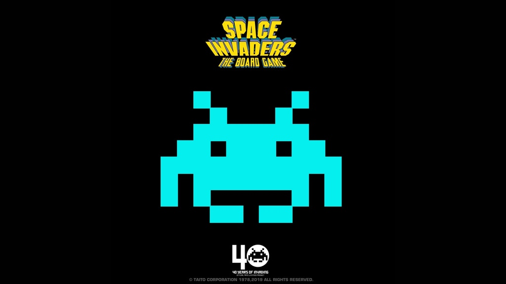 SPACE INVADERS - THE BOARD GAME project video thumbnail