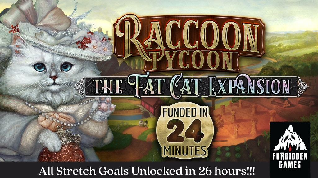 Raccoon Tycoon: The Fat Cat Expansion project video thumbnail