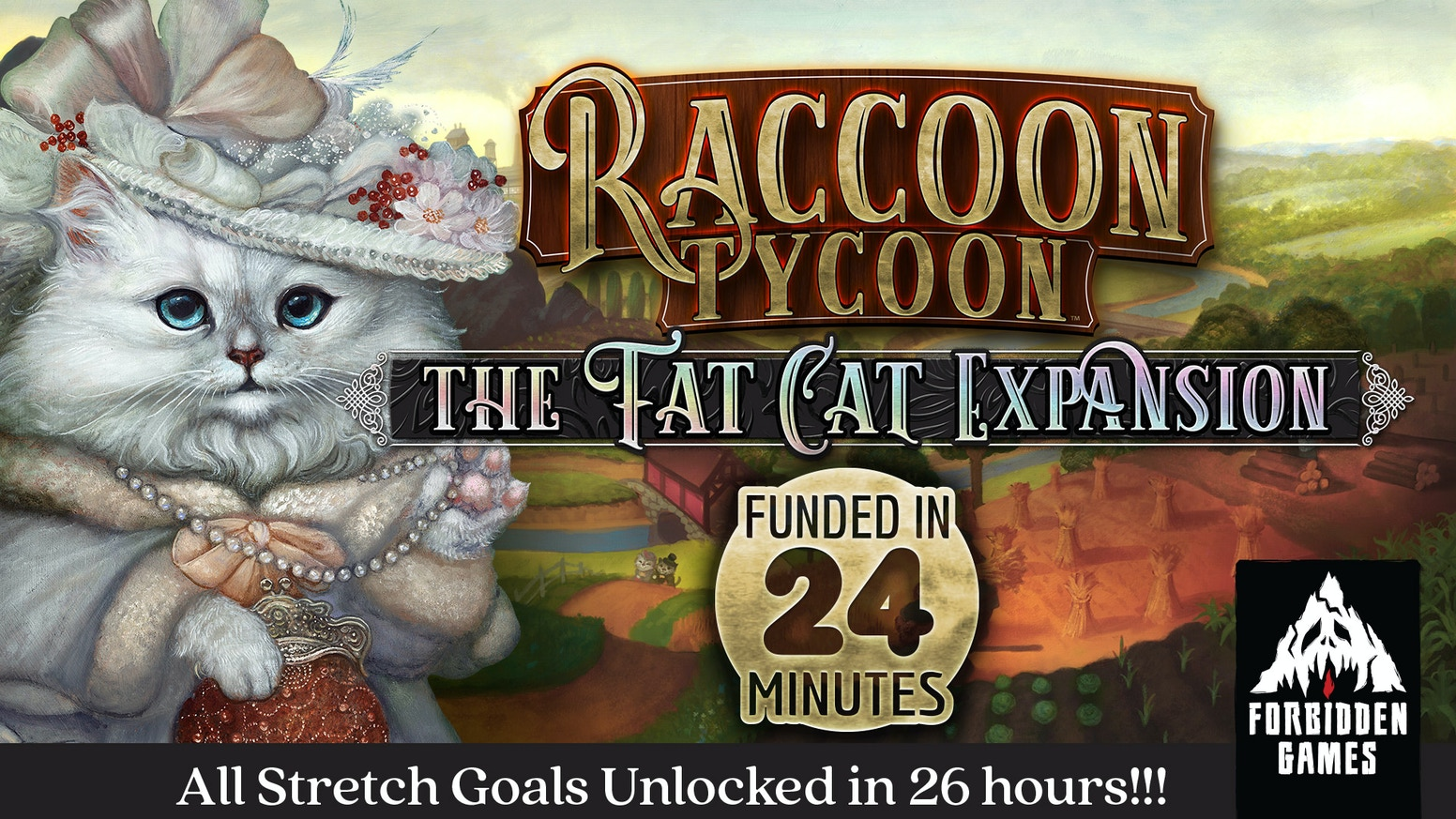 Upgrade your casual Raccoon into a strategic gamer Fat Cat!