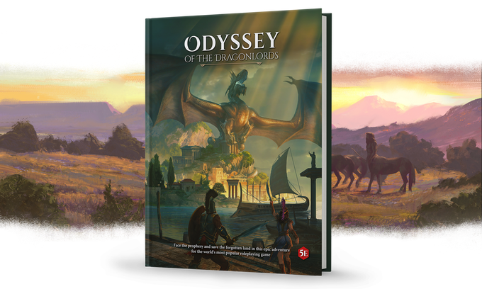 """""""Odyssey if the Dragon Lord"""" by Arcanum Worlds. Click Picture to learn more and get a copy of your own!"""