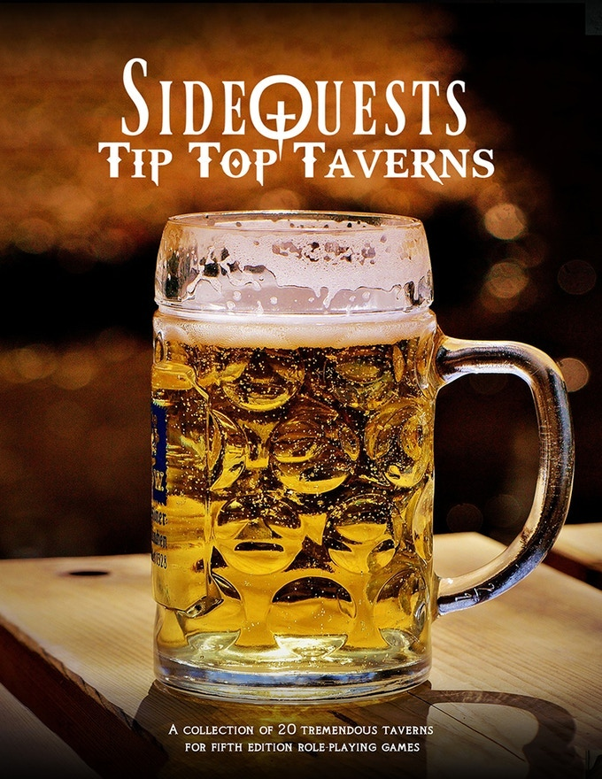 SideQuests: Tip-Top Taverns, a collection of 20 taverns for your late-night refreshments!