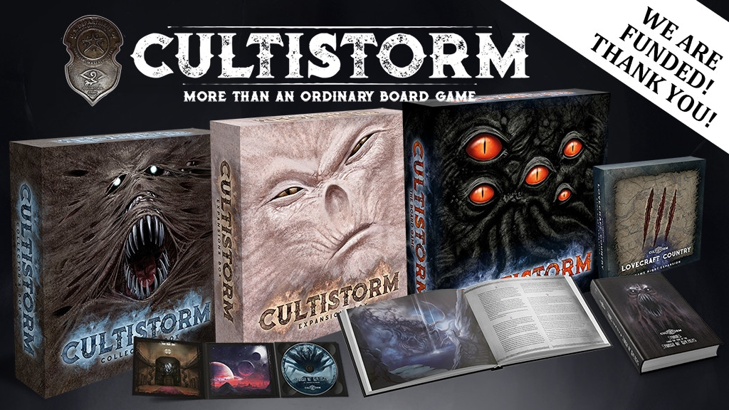 Cultistorm: A Cthulhu mythos game inspired by H.P. Lovecraft project video thumbnail