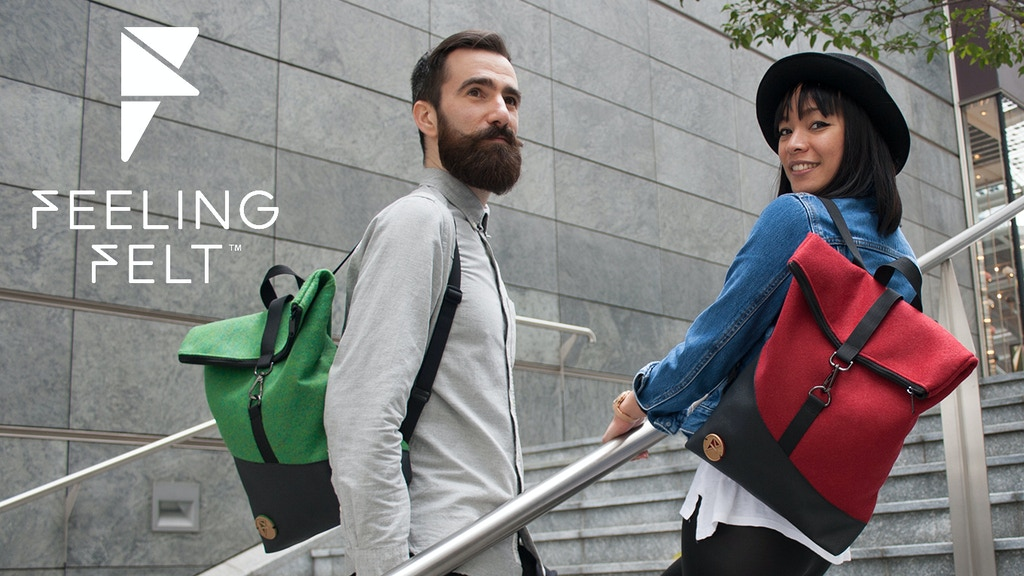 The low-impact backpacks line made in Italy for urban life project video thumbnail