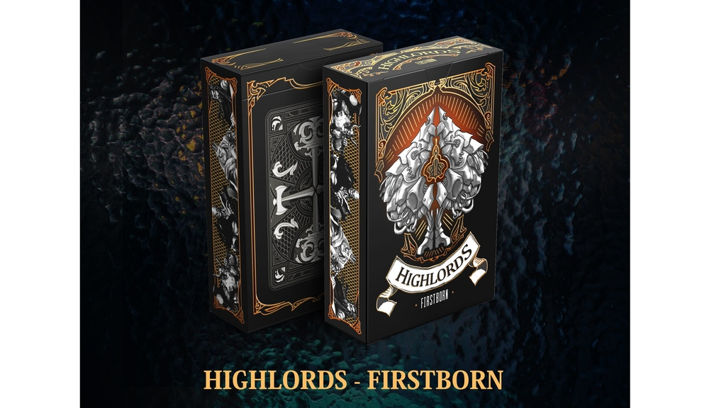 Highlords Firstborn Playing Cards - Volume 1 Fantasy Series project video thumbnail