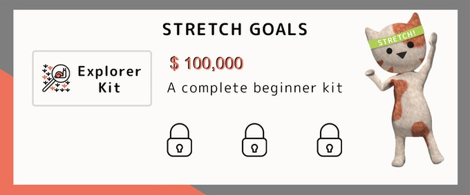 Ahhhhh thank you all!! We are funded on the night of May 16th and it's time to release our first stretch goal: an 'Explorer Kit' containing everything you need to get started with molecular biology!!!
