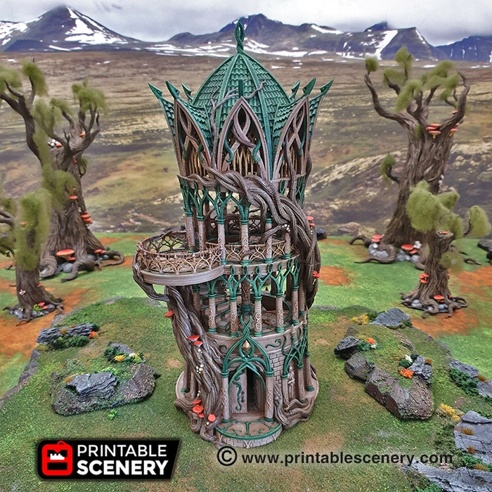 KS] Clorehaven & the Goblin Grotto by Printable Scenery