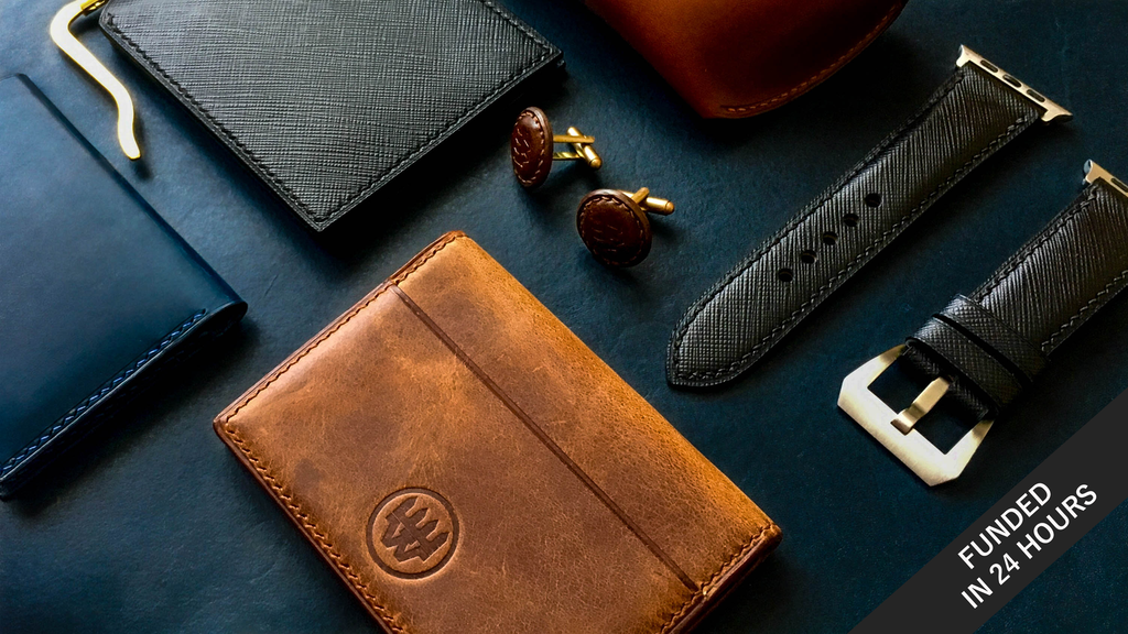 THE RAW | Redefining Handcrafted Leather Goods project video thumbnail