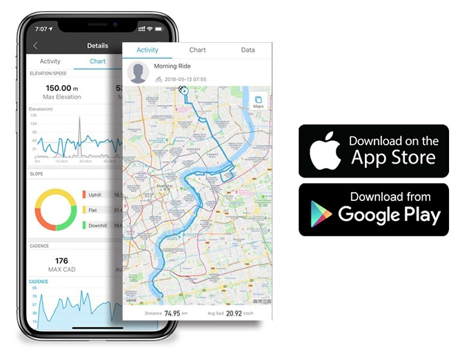 Cost-effective GPS Cycling Computer for Enthusiasts by XOSS