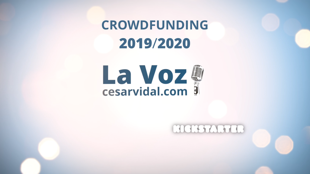 LA VOZ de César Vidal - 2019 / 2020 project video thumbnail