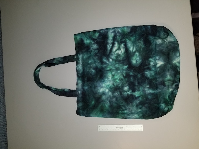 Emerald and Black Tote