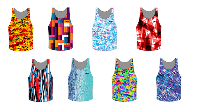 A selection of the vests you can expect to see in our next range of releases. These are the eight styles you will be able to choose from if you select any tier which includes a 'standard' vest.