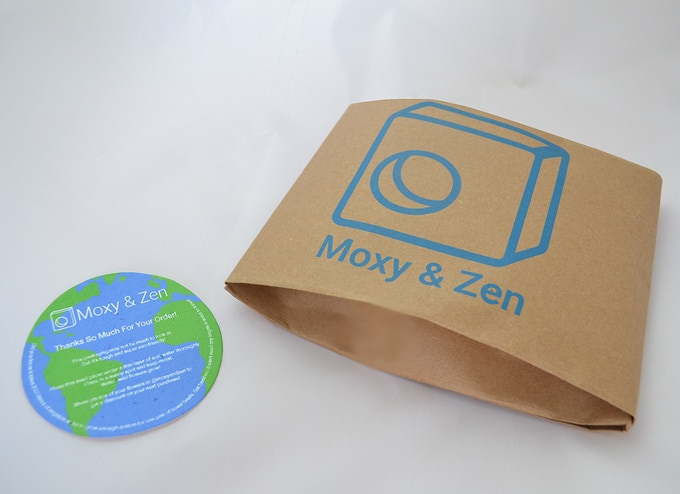 Our super eco-friendly packaging