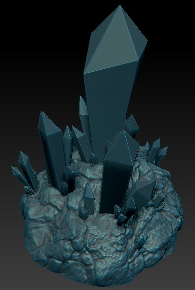 Crystal Fields - Crystal Formation 2 - Work in Progress
