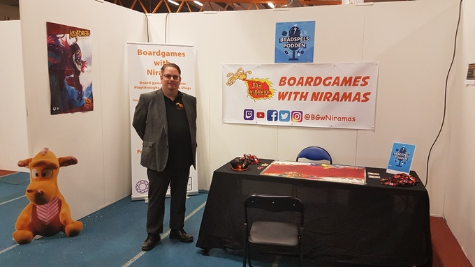 At Stockholm Tabletop Game Expo May 2019