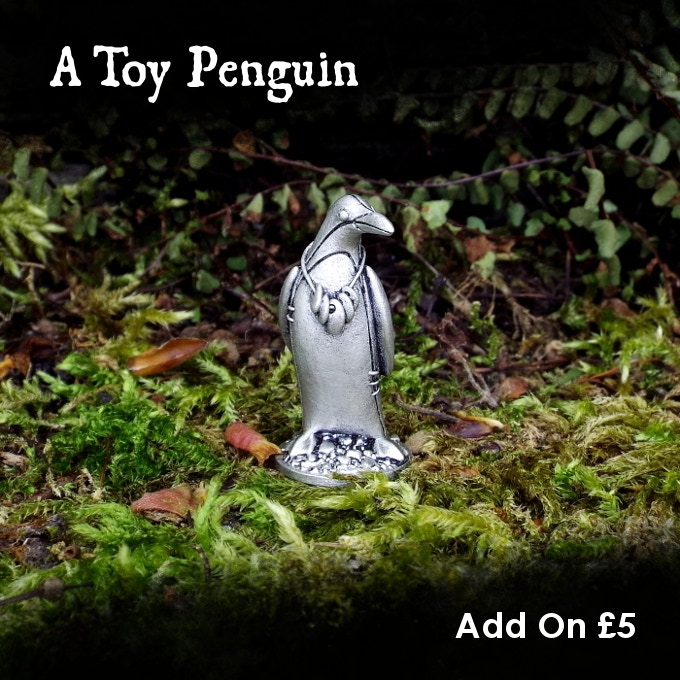 You can add the Penguin to your pledge for £5.