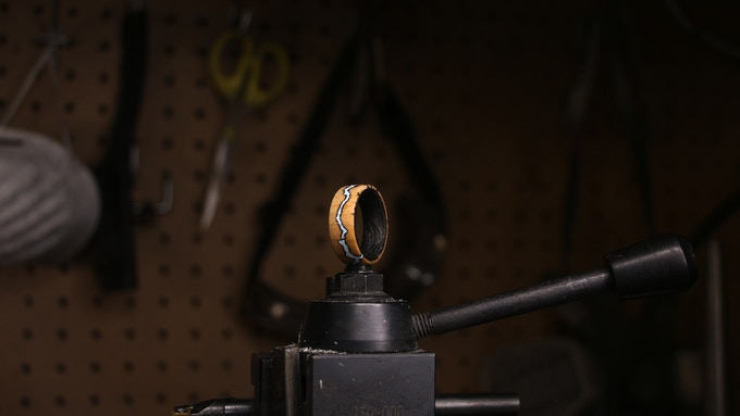 A finished Voltage Ring