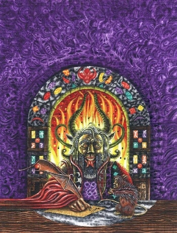 Sabbath Bloody Sabbath cover art by Robert H. Knox
