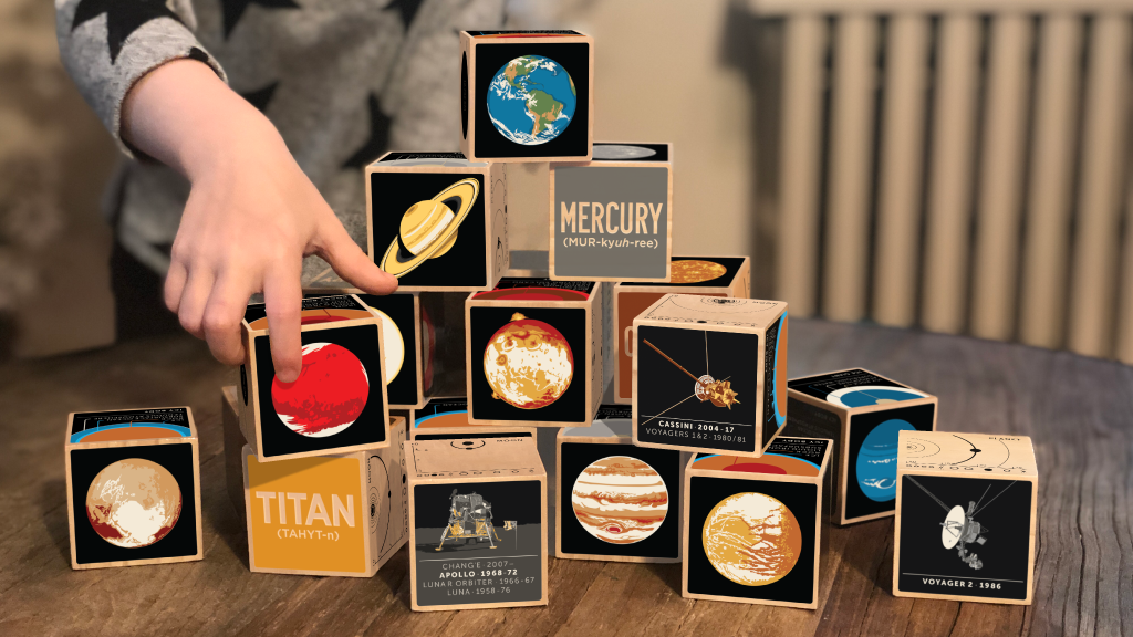 Planetary Blocks: Our Solar System project video thumbnail