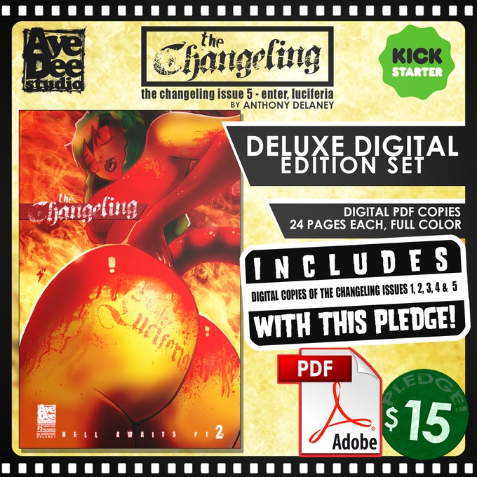 The Changeling Deluxe Digital Edition Set!