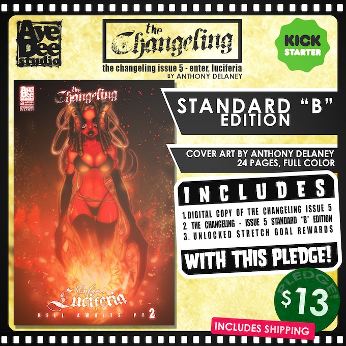 "The Changeling Issue 5 Standard ""B"" Edition"