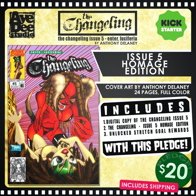 The Changeling Issue 5 Homage Edition!