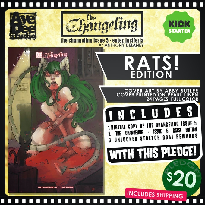 The Changeling Issue 5 Rats! Edition!
