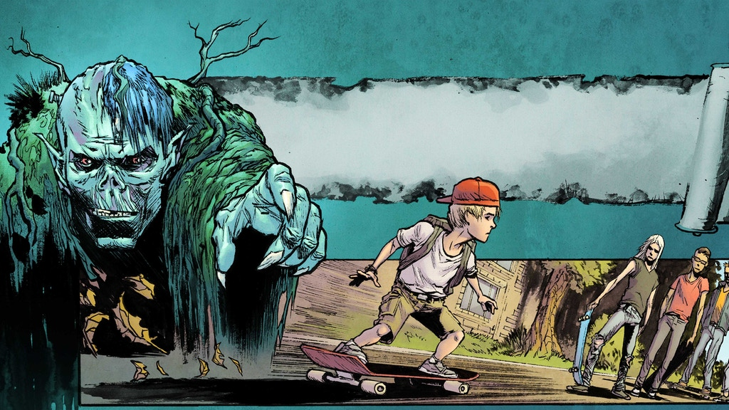 Rad Wraith : A Supernatural Skateboarding Slasher Comic Book project video thumbnail