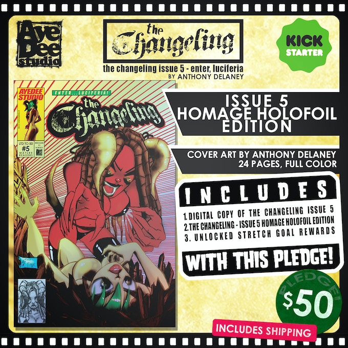 The Changeling Issue 5 Homage Holofoil Edition!