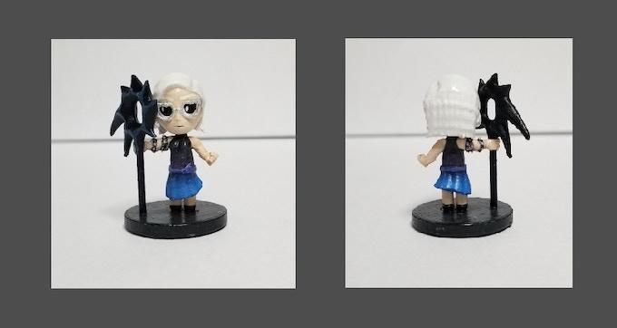Hyper Miniatures | Chibi Anime Minis| Starter Pack | Terrain by