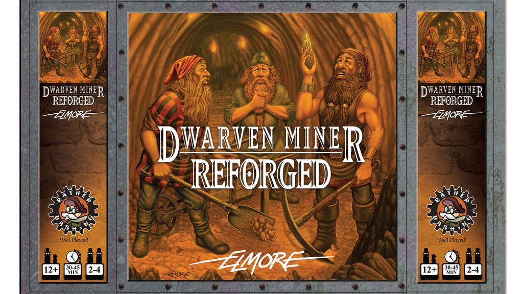 Dwarven Miner - Reforged with Larry Elmore! project video thumbnail