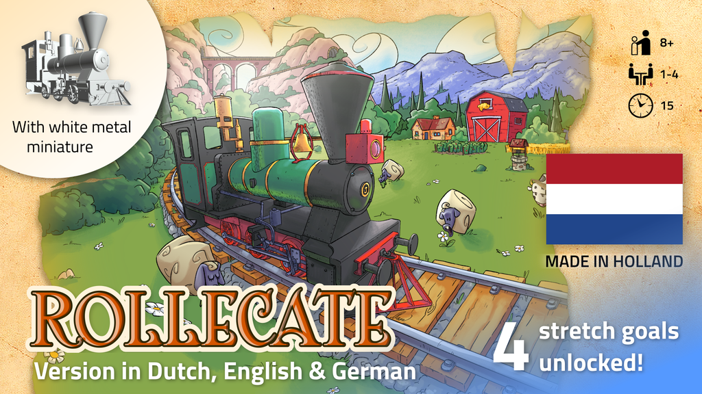 Rollecate: a fast track-laying game project video thumbnail