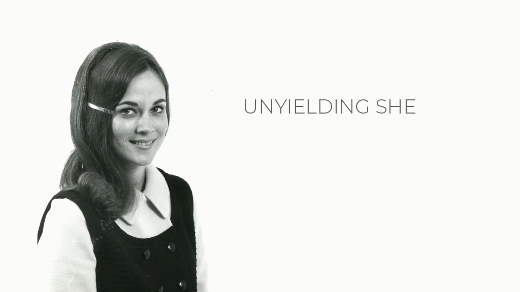 Unyielding She [FILM]