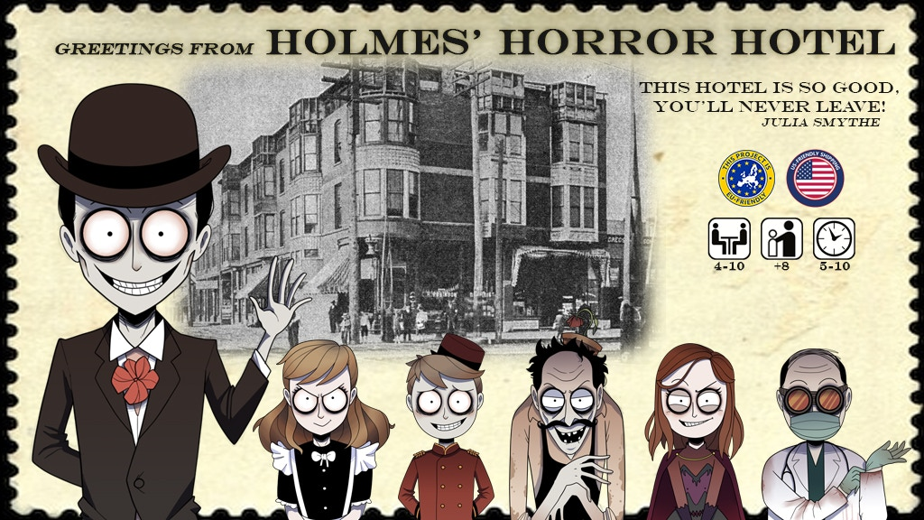 Holmes' Horror Hotel project video thumbnail