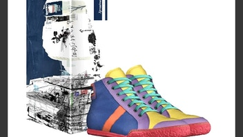 Xpressions Collection Gay/Alternative Shoe line from Italy