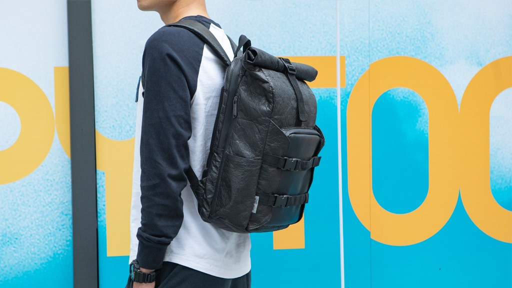 WOHLBEGE - Strong. Soft. Recyclable. Rainproof Backpack