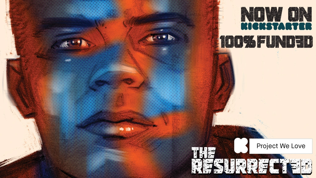 THE RESURRECTED #1-5 (volume one) - A dark sci-fi thriller project video thumbnail