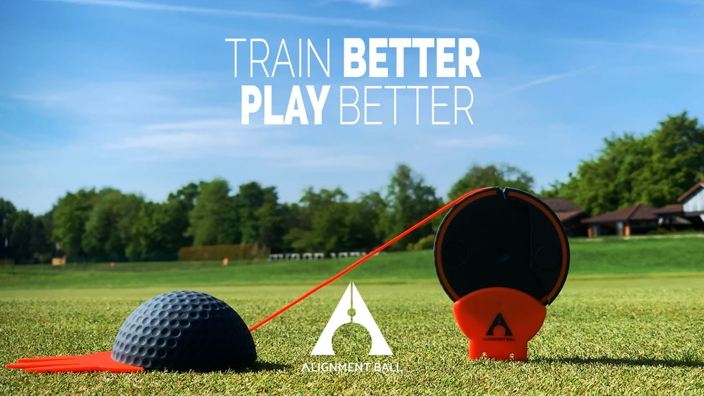 Alignment ball, train better to play better golf project video thumbnail