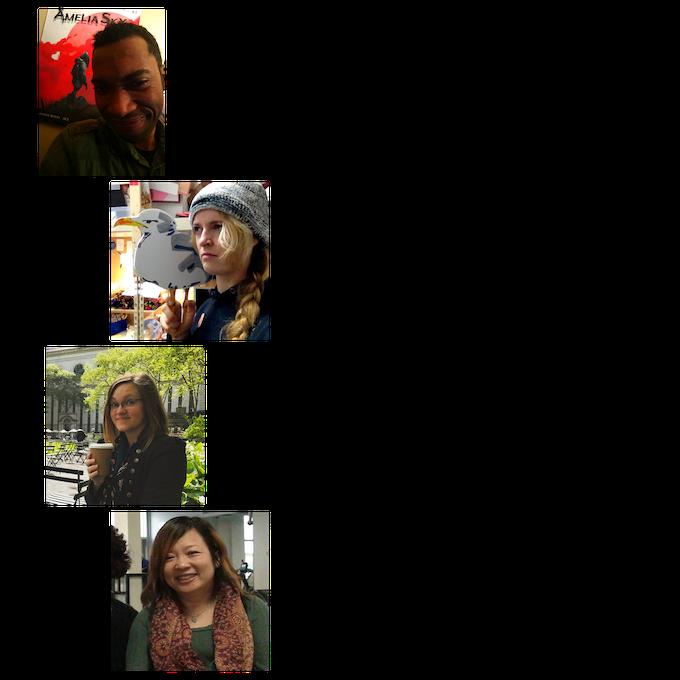The Creators: Jermaine M. Boyd, Gwynn Tavares, Brittany Matter, Kuen Tang